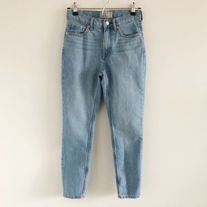 """Everlane Light Blue 9"""" Rise Jeans Size 25 Ankle"""